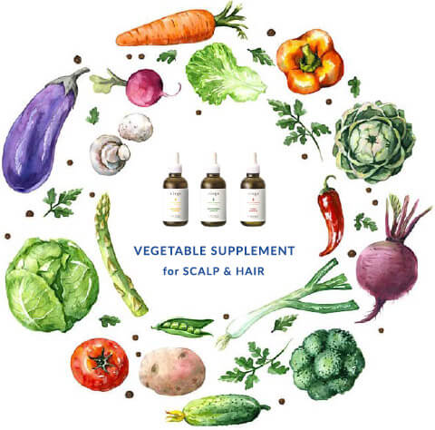 VEGETABLE SUPPLEMENT for SCALP&HAIR